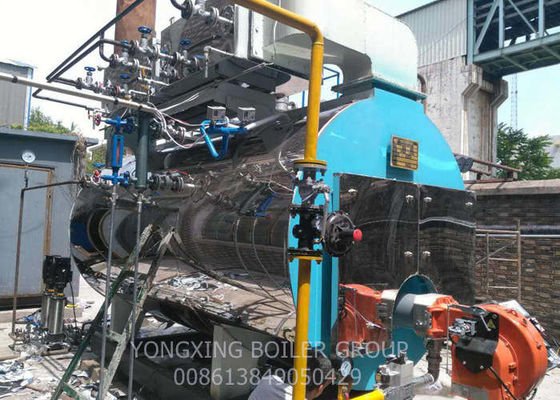Environmental Protection Gas Fired Steam Boiler For Central Heating 10 Ton