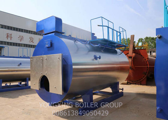 Automatic Natural Gas Fired Steam Boiler For Food And Textile Factory