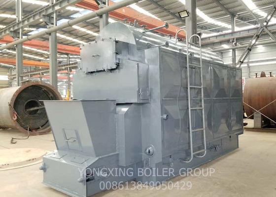 SGS CE Approved Biomass Wood Fired Boiler / Industrial Steam Boiler Chain Grate DZL 2 Ton Water tube