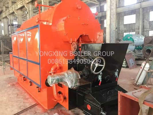 Horizontal Coal Fired Steam Boiler , Single Drum Industrial Biomass Boiler 1-20 T/H