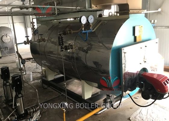 High Efficiency Gas Fired Hot Water Boiler Automatic Running Operation