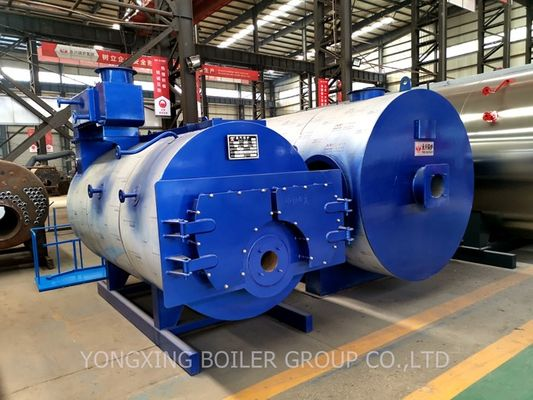 China Large Commercial Hot Water Boiler / High Efficiency Industrial Gas Hot Water Furnace factory