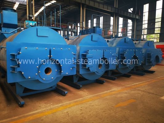 Industrial Gas Fired Steam Boiler WNS Style Stainless Steel Material