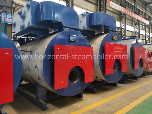 China High Thermal Efficiency Hot Water Boiler Furnace Horizontal For Timber Drying factory