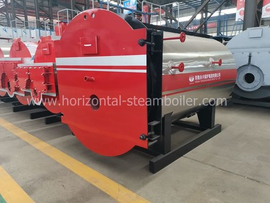 Industrial and low pressure oil heating boiler and diesel steam boiler 1.25 Mpa 1-10 ton for paper factory
