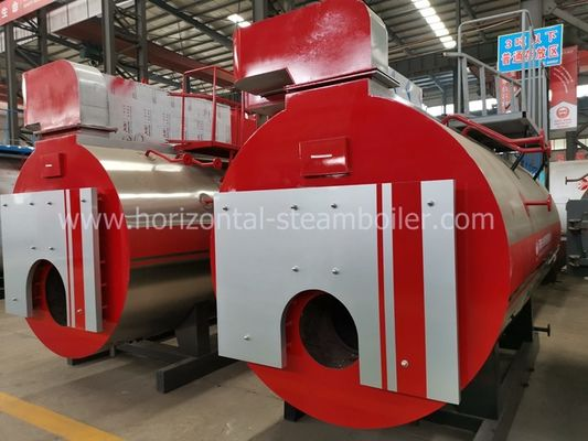 Horizontal Natural Gas Fired Steam Boiler 1-20 Ton Per Hour For Laundry Room