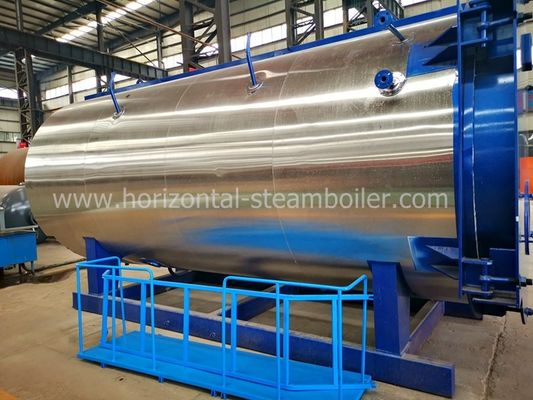 Skid Mounted Diesel Oil Fired Steam Boiler Gypsum Boiler For Milk Processing Plant