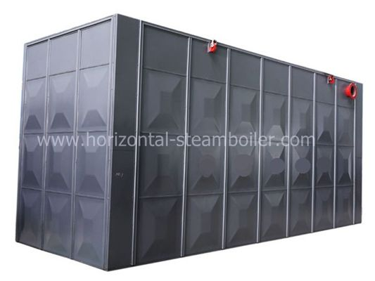 Industrial Mill Coal Fired Hot Water Boiler / Fire Tube Hot Water Boiler System