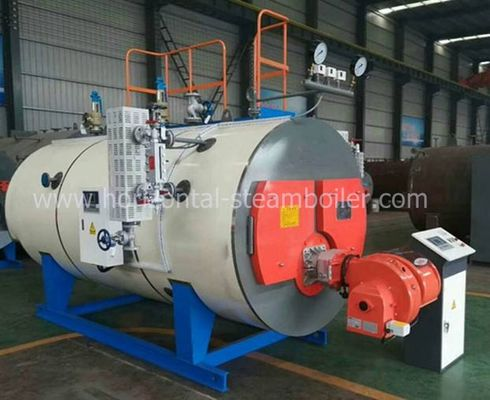 Strong Adaptability Diesel Fired Hot Water Boiler Corrugated Furnace ISO9001