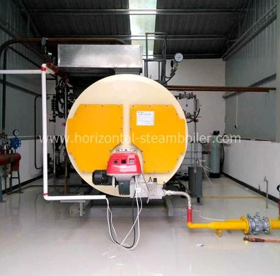 High Temperature Oil Fired Water Boiler 5 Ton For Center Heating