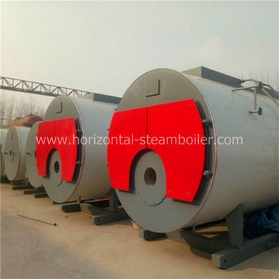Heavy Duty Oil Fired Steam Boiler Building Center Heating Usage 3 Ton