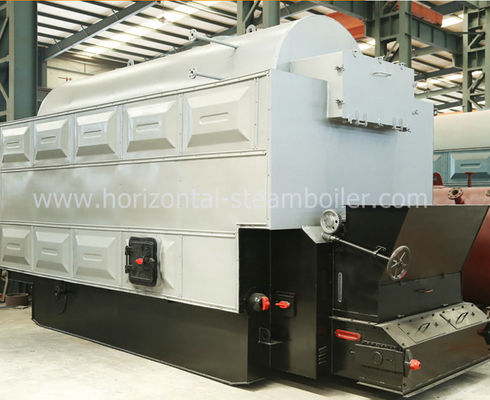Wood Chip Steam Boiler Safe Outdoor Wood And Coal Boiler Low Pressure