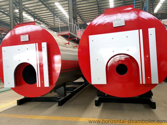 5T Heating Output Gas Fired Steam Boiler Efficiency For Hotel Heating Supply