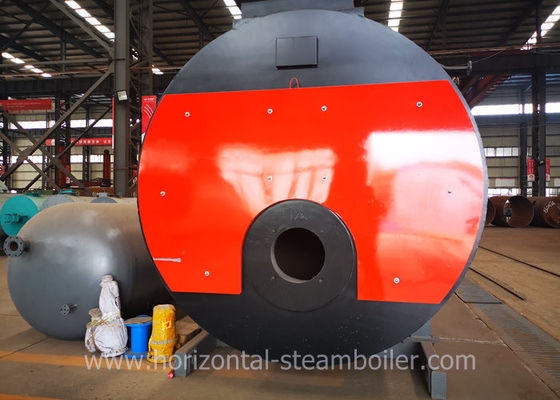 6000 Kg Low Pressure Horizontal Gas Fired Steam Boiler For Brewery