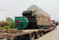 12 Ton High Pressure Working Coal Powered Boiler / Garment Factory Wood Coal Boiler