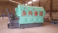 Single Drum Coal Fired Steam Boiler For Printing Dyeing Mill 4 Ton
