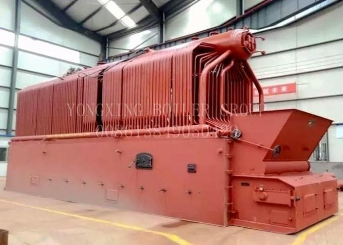 Flake Chain Grate Coal Fired Steam Boiler Industrial Water Tube Boiler