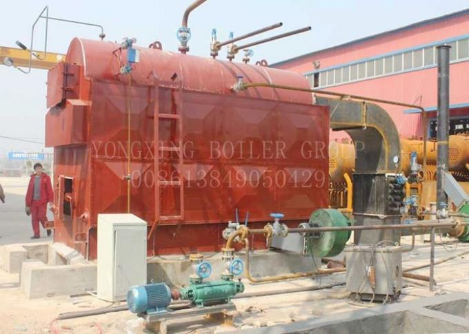 6 T Industrial Biomass Fired Steam Boiler Wood Fired Steam Generators For Electricity