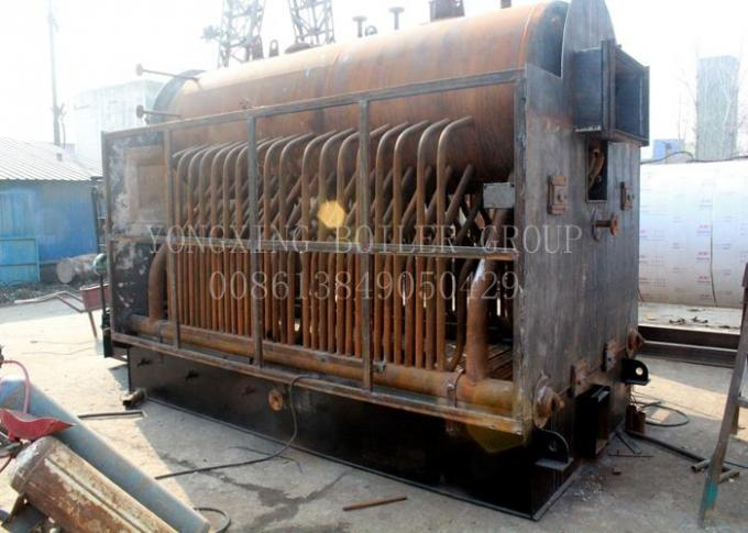 Single Drum Coal Fired Hot Water Boiler Energy Saving Coal Stoker Boiler