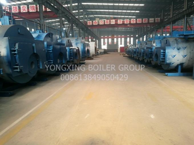 Automatic Oil Fired Steam Boiler Industrial Low Pressure Hot Water Boiler