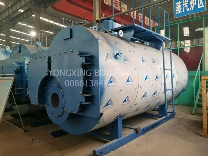 Dehydrating Fruits Three Pass Package Type Boiler / Vegetables 3 Pass Boiler