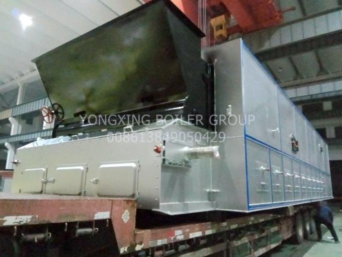 Biomass Travelling Grate Stoker 4m Width Steam Boilers Moving Grate Furnace For Paper Mill