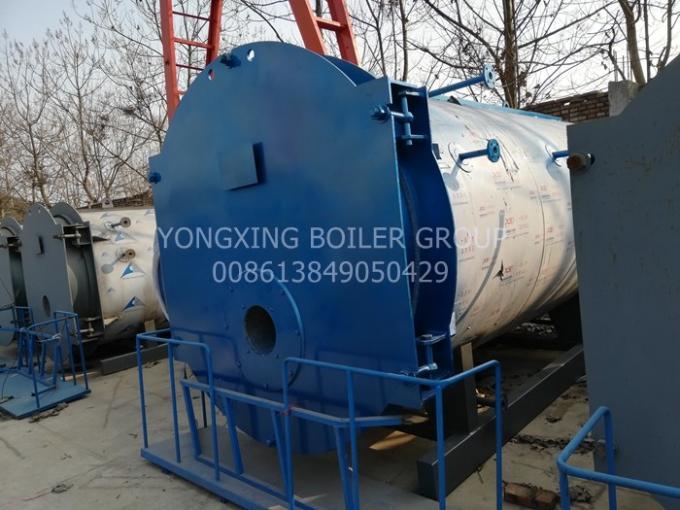 Low Nitrogen Three Pass Fire Tube Boiler Food Industry Low