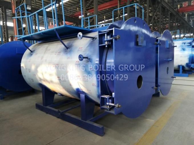 2800Kw Natural Gas Hot Water Furnace Industrial Water Tube Boiler Energy Saving