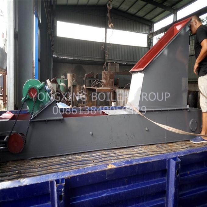 Casting Iron Screw Scraper Chain Conveyor Ash Extractor Dust Boiler Auxiliary Equipment