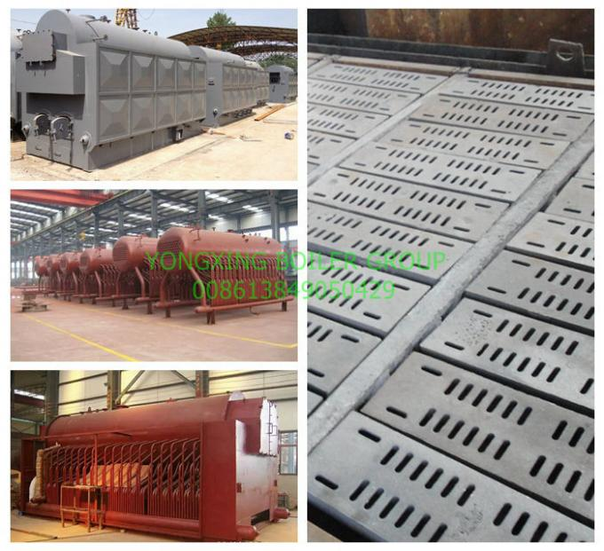 Single Drum Fixed Grate Biomass Fired Steam Boiler For Chemical Industry 2 Ton