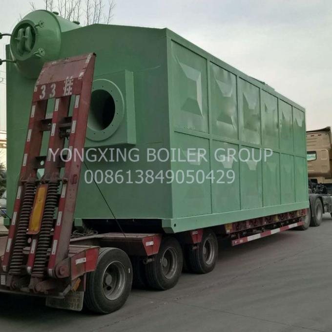 Durable 1-20t coal steam boiler and pellet fired boiler equipped with single drum with best price