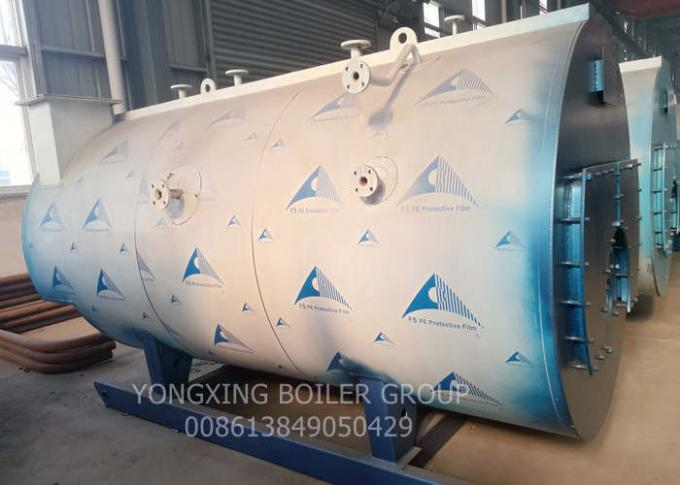 WNS Horizontal Fire Tube Boiler Packaged / Industrial Steam Boiler 1 Ton To 20 Ton