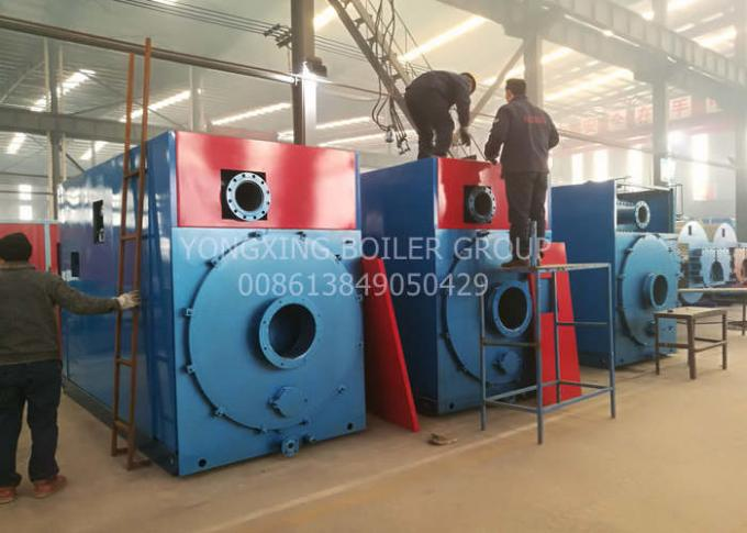 Industrial Fire Tube Boiler And Water Tube Boiler For Laundry 92% Efficiency