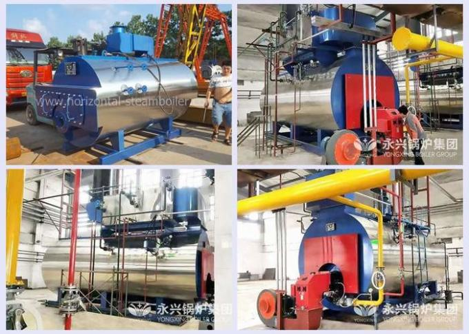 Strong Adaptability Diesel Fired Hot Water Boiler
