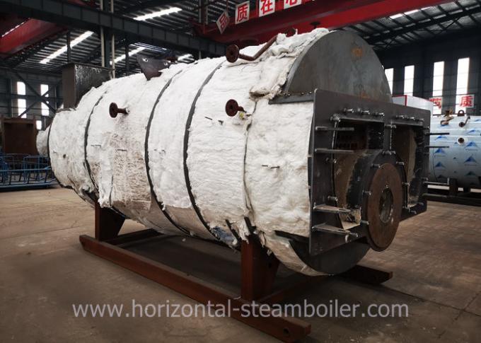 13 Bar Gas Fired Steam Boiler 3 Pass Horizontal Fire Tube